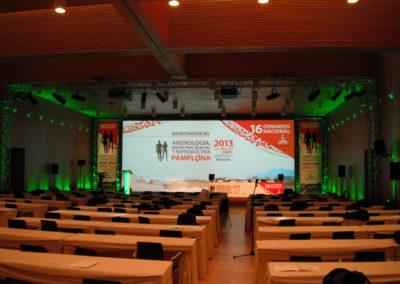 Congreso Andrología, Medicina Sexual y Reproductiva. Baluarte. Pamplona