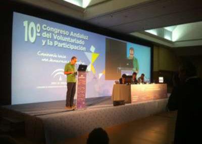 Congreso de voluntariado. Hotel Alcora . Sevilla