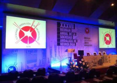 Congreso Sociedad Andaluza de Neurología. Hotel Ilunion Málaga
