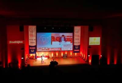 Premios Empresario de Badajoz. Salón Juan XXI.