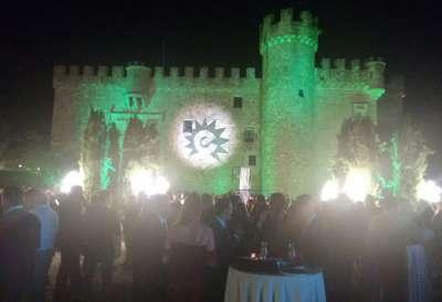 Premios Empresario Extremeño. Castillo Arguijuela. Cáceres.
